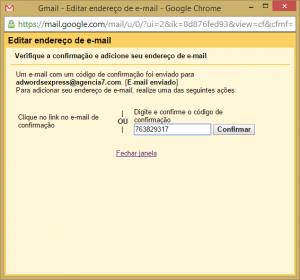 Configurações do Gmail