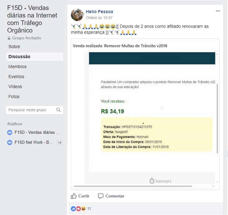 f15d vendas diarias na internet sem gastar com anúncios 3